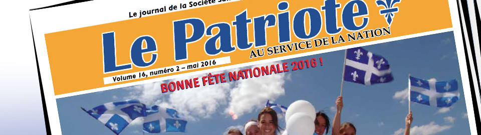 Journal LE PATRIOTE